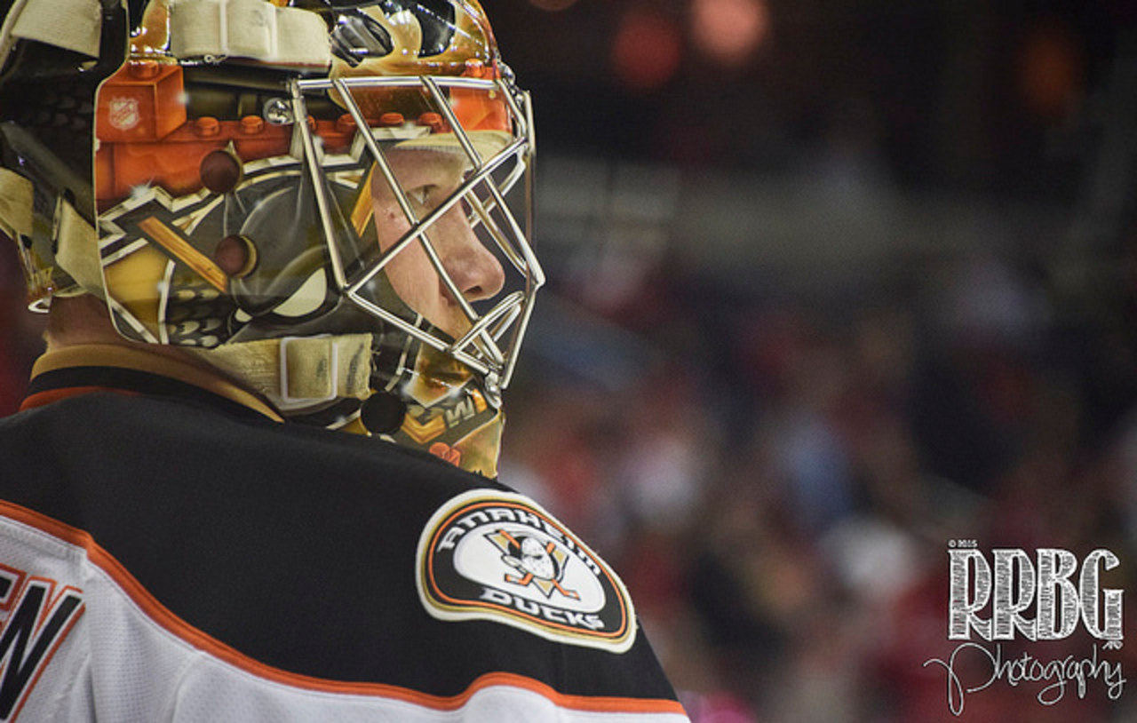 Maple Leafs acquire Frederik Andersen from Ducks